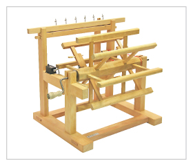 Multi-thread  Gear-system Skein Winder w/Rotation Counter