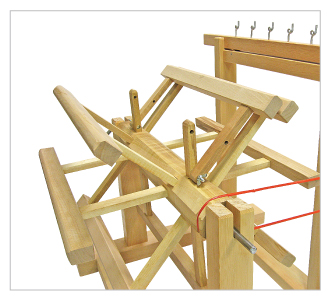 Multi-thread Gear-system Skein Winder