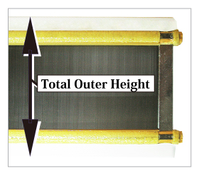 Total Outer Height